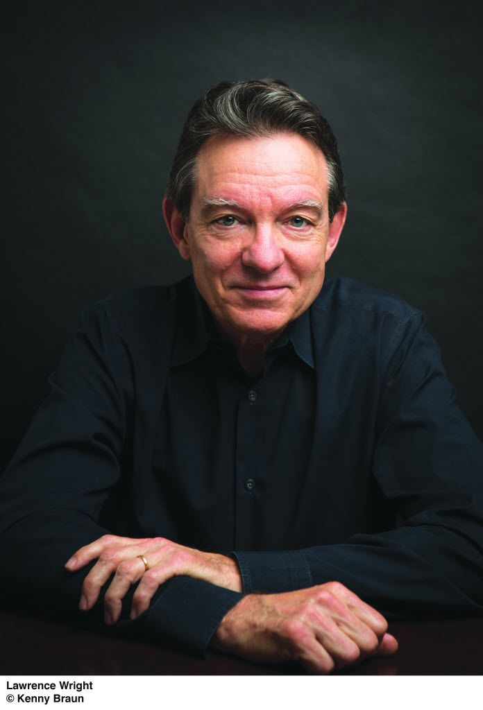 """Lawrence Wright, author of """"God Save Texas."""""""