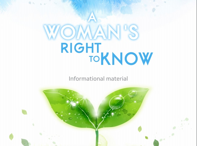 "The abortion booklet, ""Women's Right to Know"" that state law mandates must be given to a woman 24 hours before her scheduled abortion. (Department of Health and Human Services"