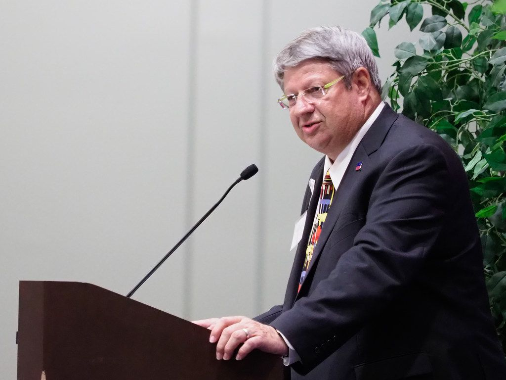 Charles Stafford is a 20-year veteran of the Denton ISD school board and also leads the board of directors of the Denton Central Appraisal District.