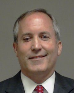 Mug shot of Attorney General Ken Paxton, taken at the Collin County Jail on Aug. 3, 2015.