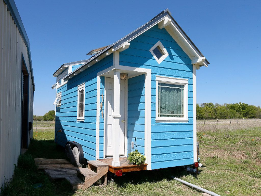 "Tiny homes require a lifestyle change. ""It's an intentional approach to living,"" says B.A. Norrgard of Dallas."