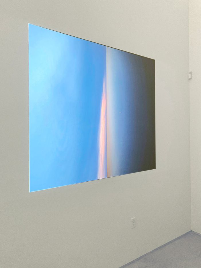 Shelby David Meier, 'A Sunrise is the Back of a Sunset,' 2018, video projection, approx. 30 min.