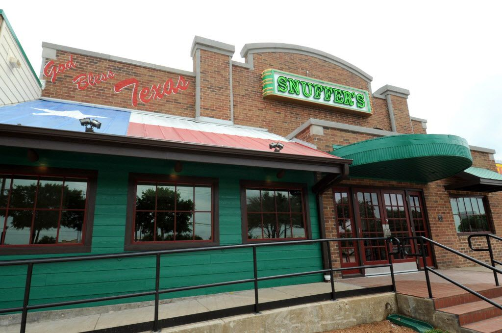 The new Snuffers location is located at Midway Road and Belt Line Road in Addison, TX on May 7, 2015. (Alexandra Olivia/ Special Contributor)