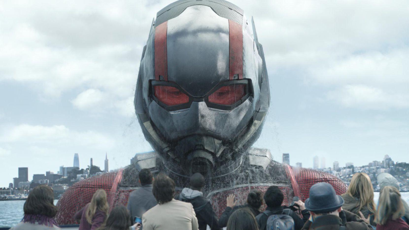 """Imagen proporcionada por Marvel Studios donde se muestra a Paul Rudd en la cinta """"Ant-Man and the Wasp.""""(AP)"""