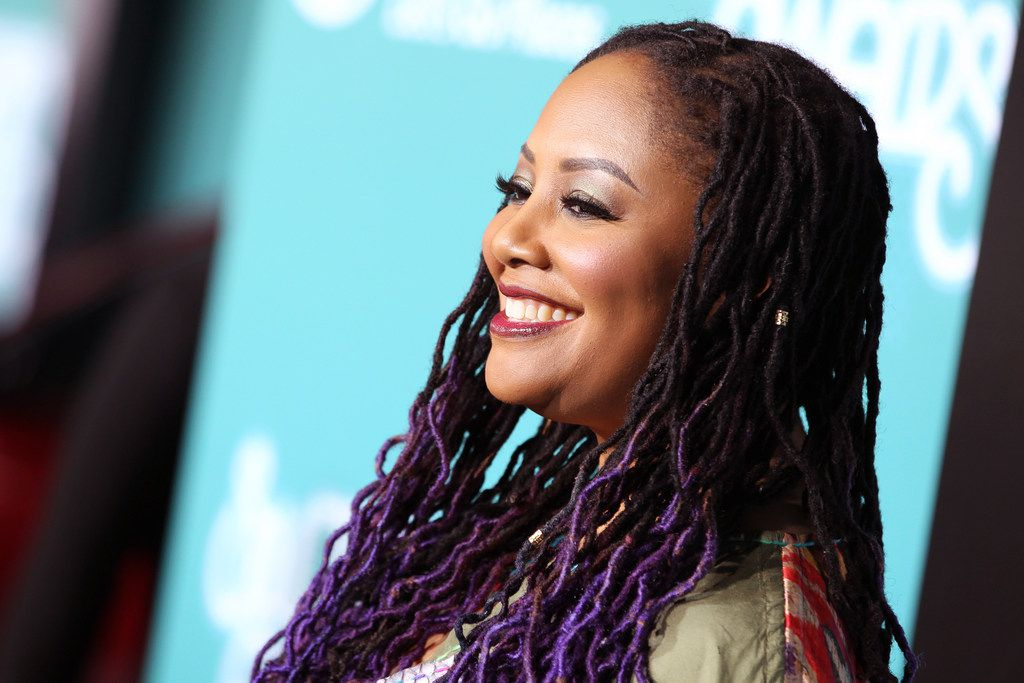 Lalah Hathaway is shown at the red carpet for the 2017 Soul Train Awards, presented by BET, at the Orleans Arena on Nov. 5, 2017 in Las Vegas, Nev. She probably was not all smiles after her show Feb. 20 at Dallas' House of Blues.