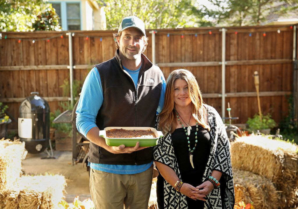 Diane Fourton and Justin Fourton, the co-owners of the Pecan Lodge restaurant in Deep Ellum, have cooked the same sweet potato casserole for their Thanksgiving Day dinner for nearly six years.