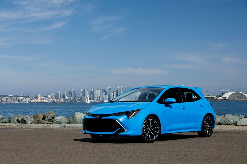 The 2019 Corolla Hatchback's looks promise more than Toyota's usual sensible shuttle.