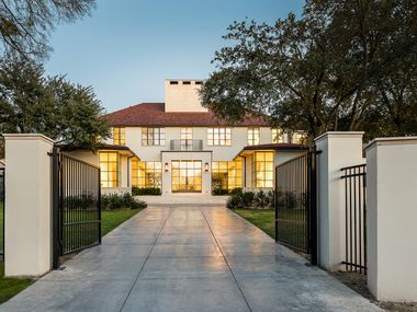 A look at the property at 5020 Park Lane in Dallas.