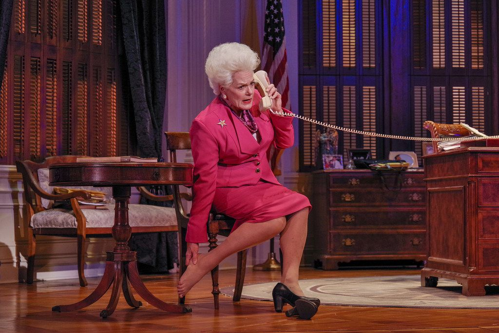 Fort Worth actress Libby Villari plays Texas Gov. Ann Richards in Holland Taylor's one-woman show Ann.
