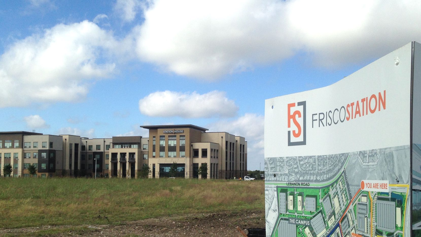 The Frisco Station House apartments have just opened in the $1.5 billion project.
