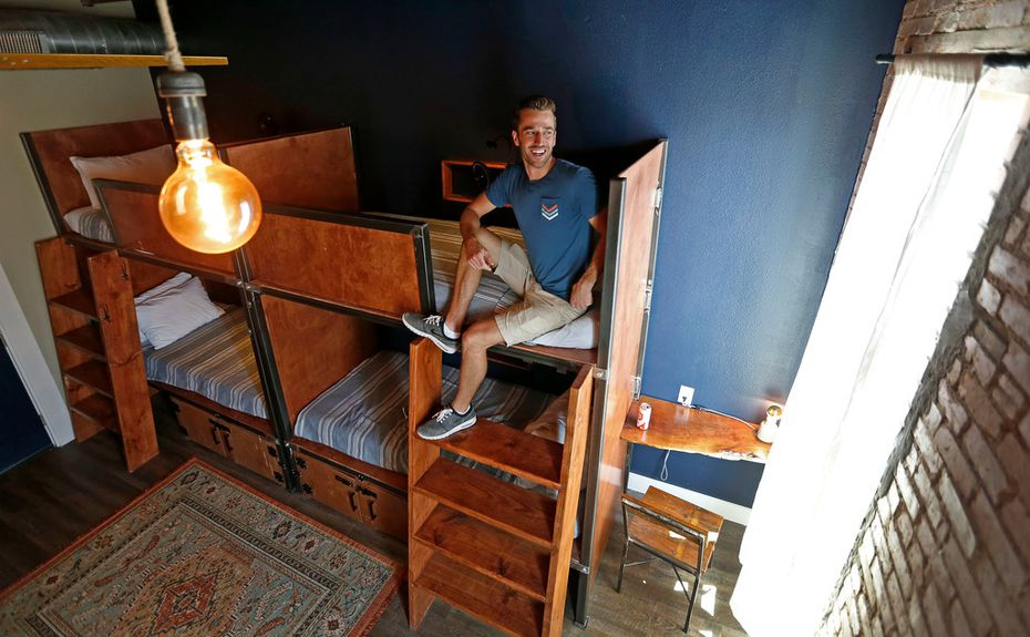 Collin Ballard has been trying to open Deep Ellum Hostel for more than two years.