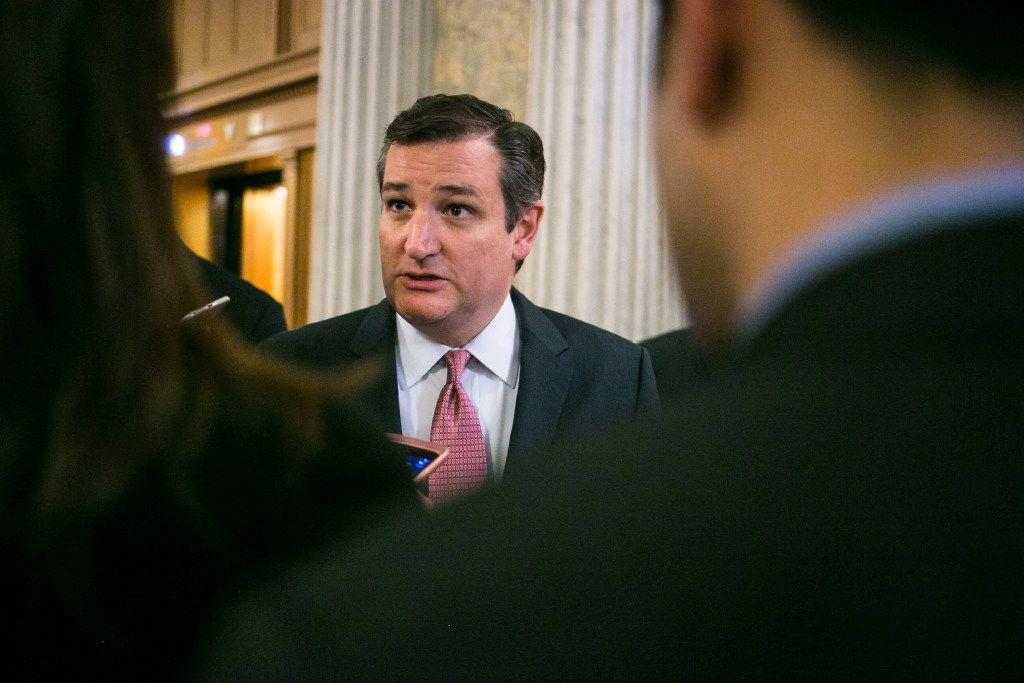 Texas Sen. Ted Cruz (Al Drago/The New York Times)