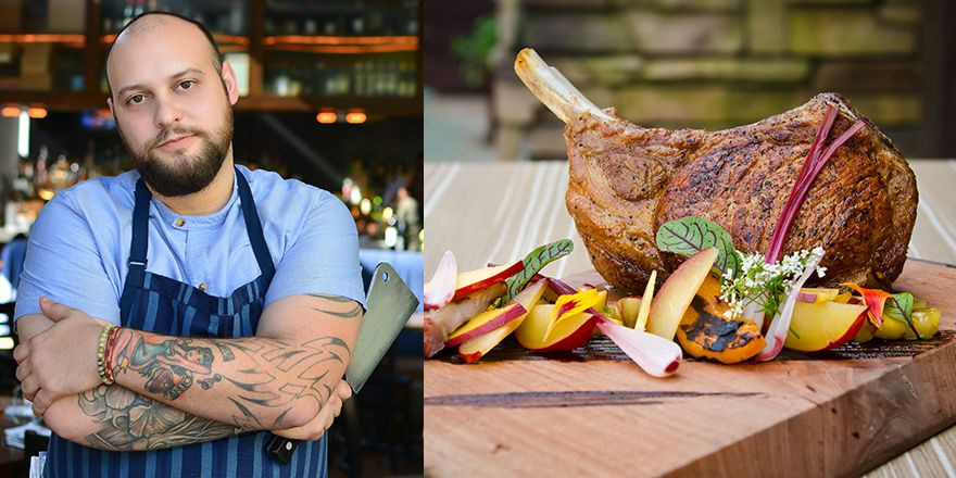 During on Savor event, chef Kyle McClelland (pictured) will teach foodies how to properly butcher meat.