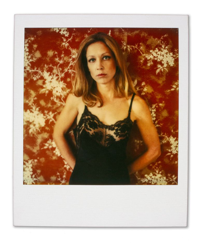 Color Polaroids by Paul Black of his wife, Carol. Now, for the first time, his decades of photographs of Carol documenting their lives together, is the subject of a new exhibition at Barry Whistler Gallery.