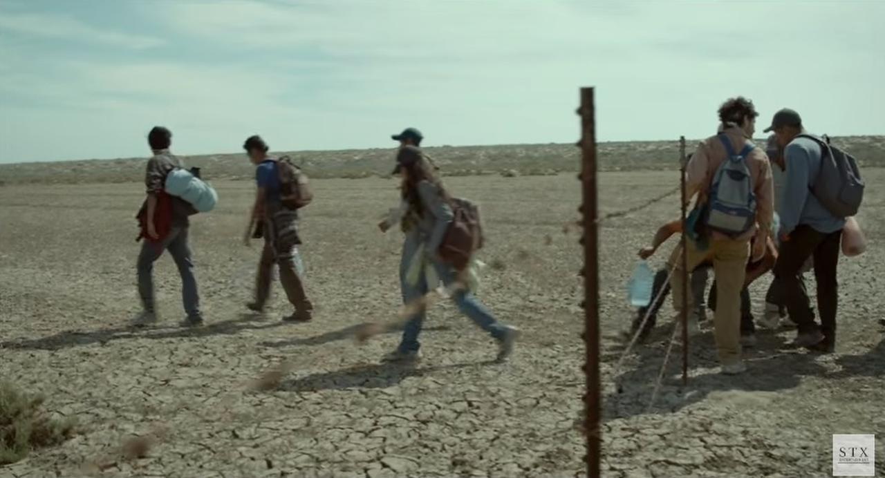 Desierto es un retrato crudo sobre la vida en la frontera entre México y Estados Unidos.(YOUTUBE)