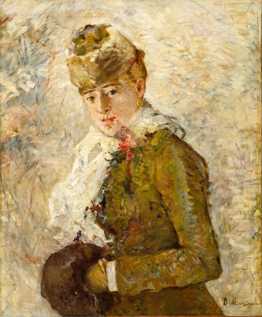 Berthe Morisot's Winter, 1880 (Dallas Museum of Art / Musee National des Beaux-Arts du Quebec)