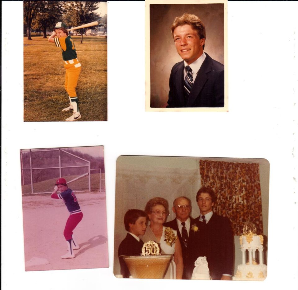 A collection of photos of Jimbo Fisher, courtesy the FIsher family.
