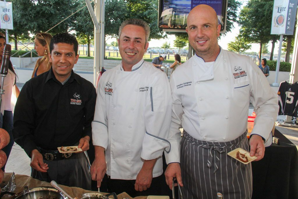 Texas de Brazil was one of the restaurants represented at Taste of the NFL.