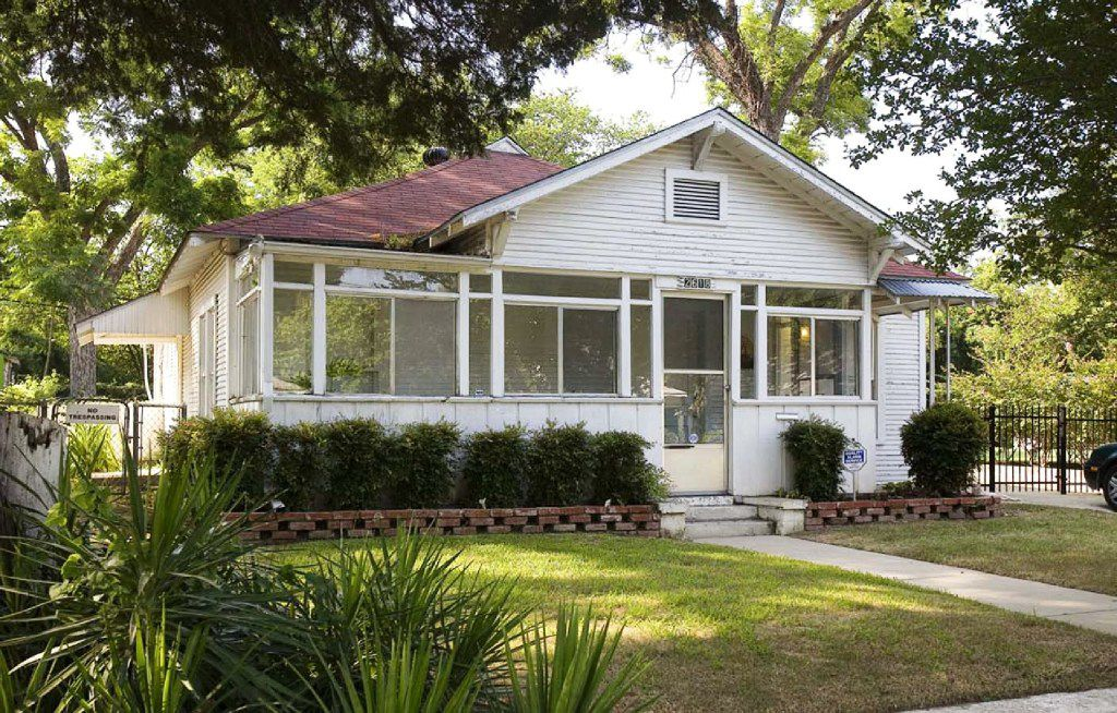 The Juanita J. Craft Civil Rights House, 2618 Warren Ave., stands today as a museum. (Texas Historical Commission)