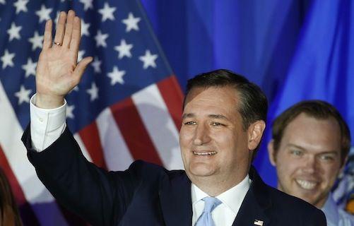 El senador de Texas Ted Cruz ganó la elección primaria del partido republicano.