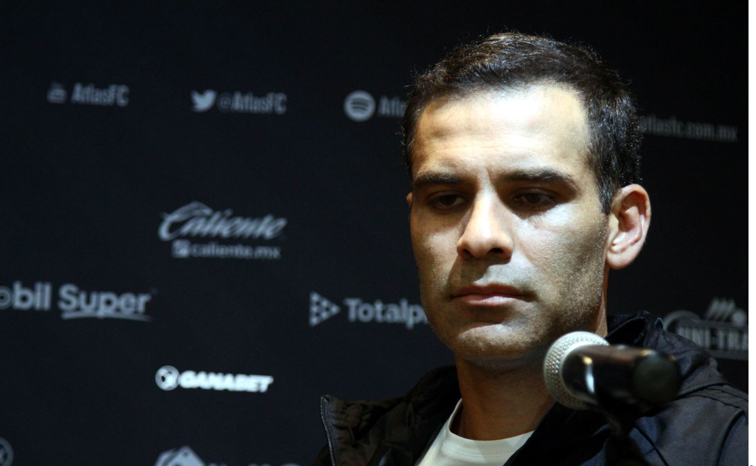 Márquez aseguró que se dio cuenta de la gente que verdaderamente está con él./ AGENCIA REFORMA