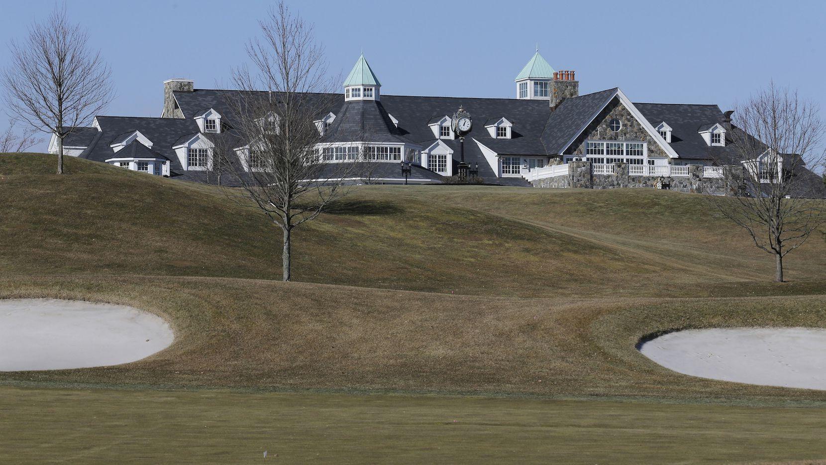 Sitio del Trump National Golf Club en Briarcliff Manor, N.Y. AP