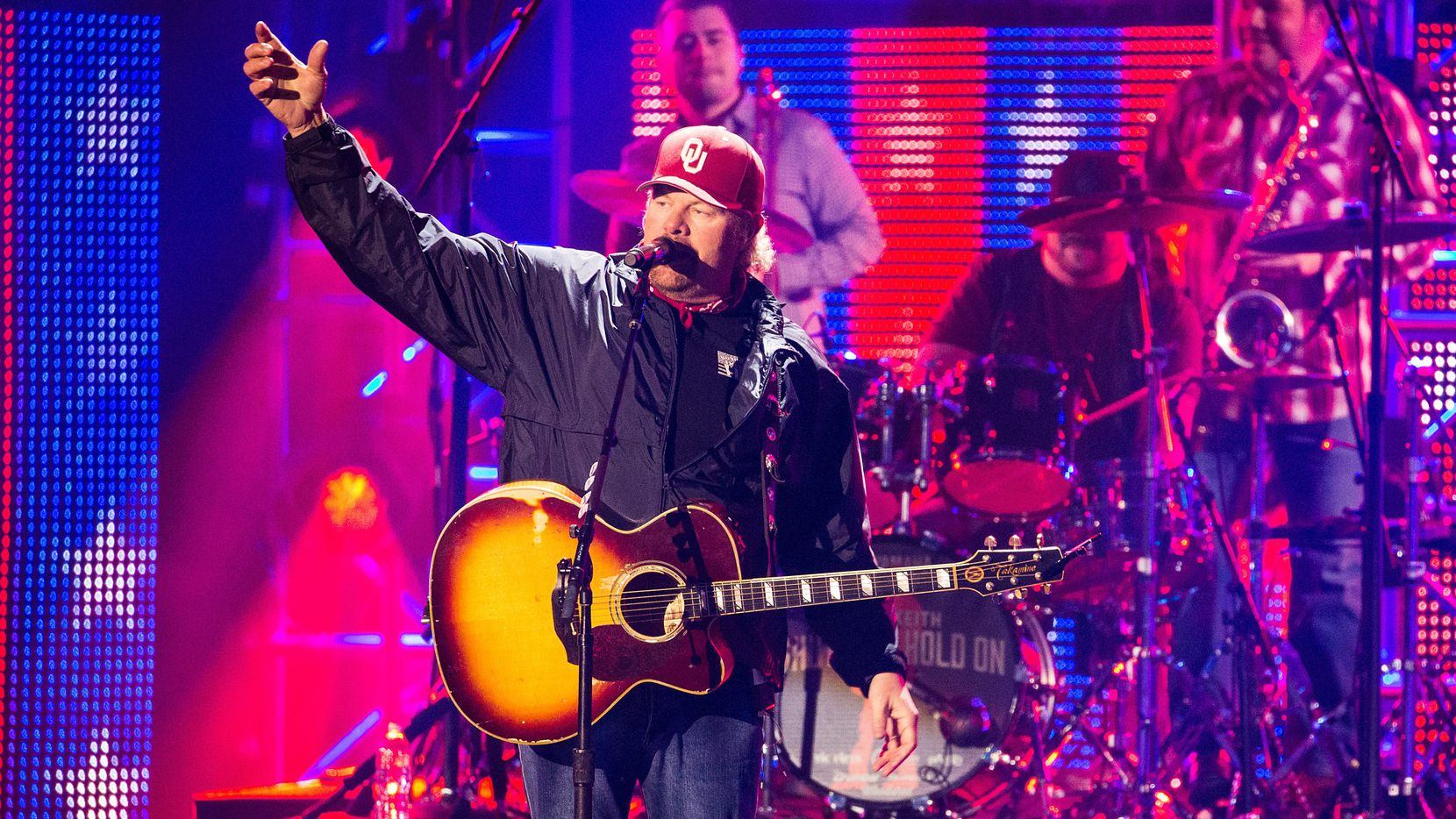 Toby Keith will headline the Oct. 15 Cattle Baron's Ball at Gilley's in Dallas