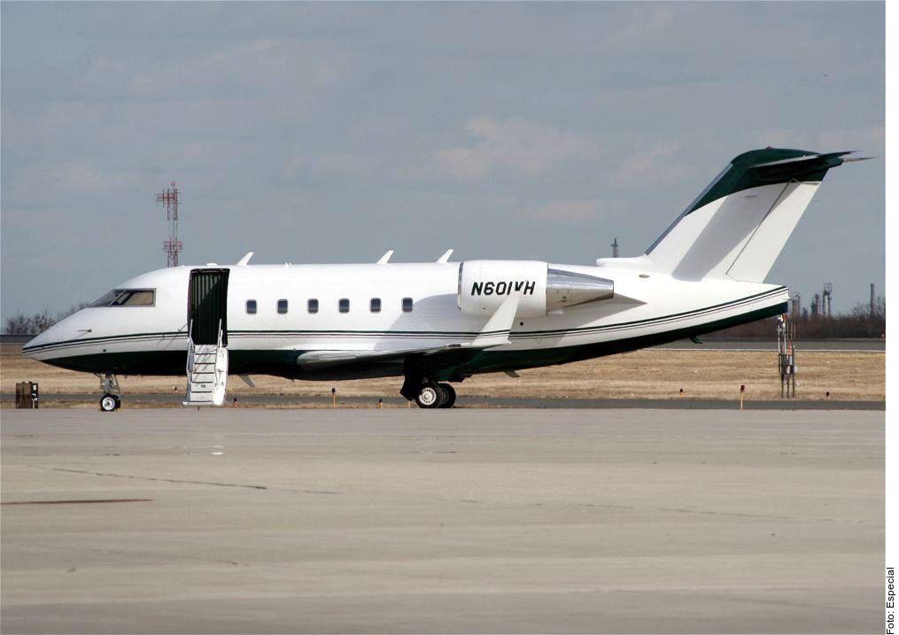 Portales especializados en aviación compartieron esta foto y señalaron que sería la aeronave sobre la que se emitió la alerta./ AGENCIA REFORMA
