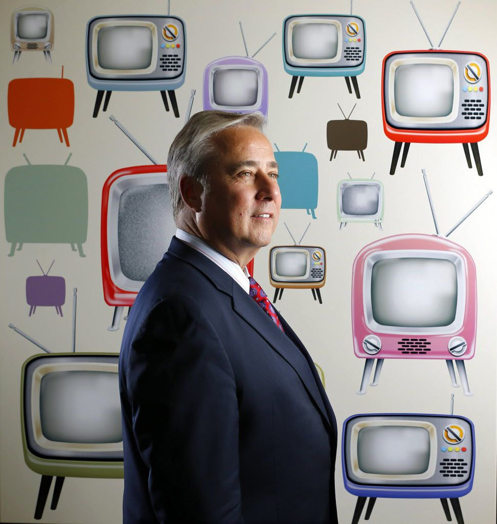 Perry Sook, president and chief executive officer of Nexstar Media Group, is pictured at its Irving offices in 2016.