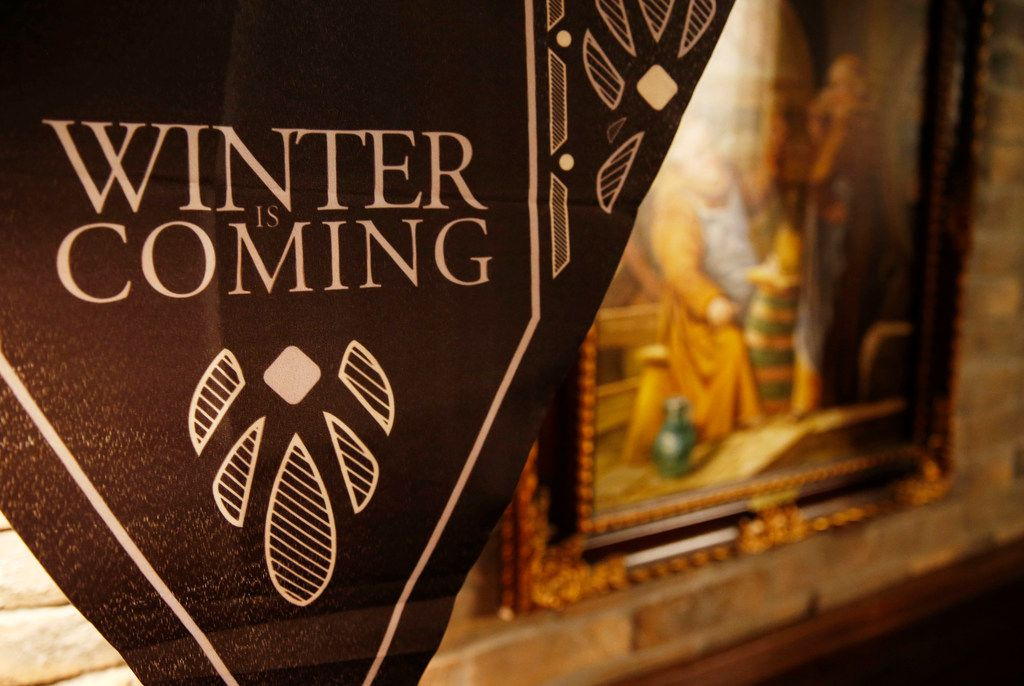 Winter is Coming at the Ill Minster Pub in Dallas