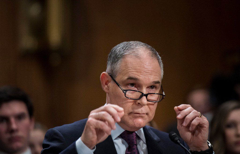 Scott Pruitt, President Donald Trump's nominee to run the Environmental Protection Agency, has cleared the Senate Environment and Public Works Committee by a vote of 11-0, after the Republican chairman approved a change that allowed it to bypass a rule requiring at least two members of the minority to be present for a vote. Democrats had boycotted the meeting. A vote on the Senate floor is expected this week.