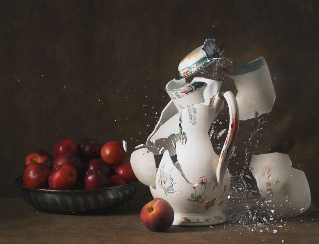Ori Gersht, New Orders 04 - Untitled 02, 2018, archival pigment print