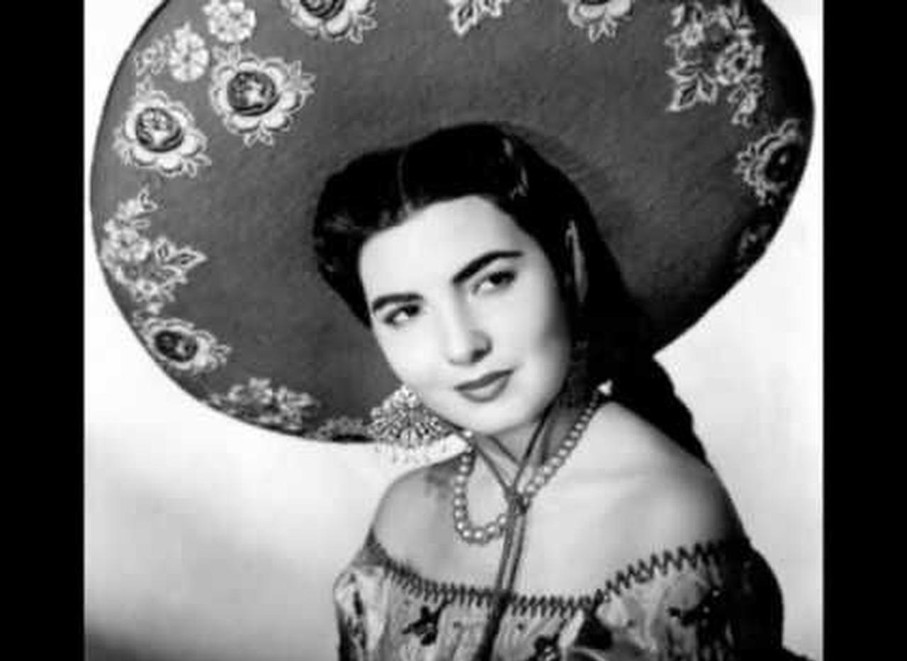 América Martín. La cantante de ranchero tuvo éxito durante la década de los cincuenta.(Youtube)