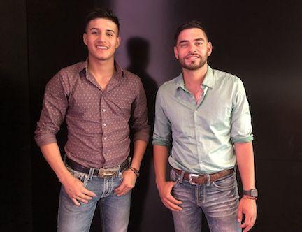 Daniel Brian Rodríguez  y Gabriel Trevizo, integrantes de La Alianza Norteña.(SILVANA PAGLIUCA/ AL DÍA)