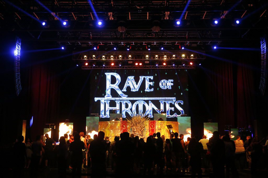 An event of Rave of Thrones is held at The Bomb Factory in Dallas, Saturday, Aug. 13, 2016. (Jae S. Lee/The Dallas Morning News)