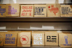Dan Bradley grew up in Iowa, but he said he and his wife have quickly grown to love Dallas and all of its quirks. (Andy Jacobsohn/The Dallas Morning News)