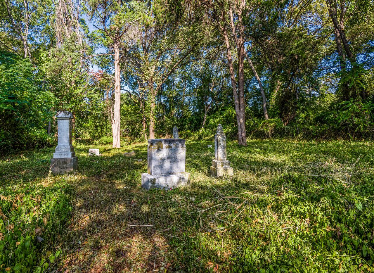 """In 2006 Barry Kooda took this photo in the McAdam's Cemetery. He sends this explainer: """"I have photos of Voodoo dolls and Santeria leftovers from some of the local cemeteries I visit. This is from the same one (McAdams) I took in 2006 I imagine it's pretty creepy to the superstitious."""""""
