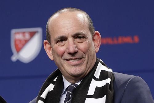 Don Garber. (AP Photo/Mark Humphrey, File)