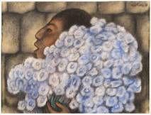 La vendedora de Flores del mexicano Diego Rivera, es una de las obras donadas a la colección de arte latinoamericano del DMA por The Eugene and Margaret McDermott Art Fund.