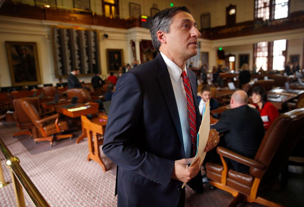 Rep. Giovanni Capriglione, R-Southlake, shown in February, said the state is learning very costly lessons from its botched contracting for information technology systems.