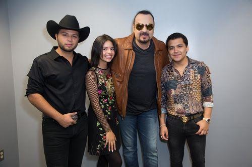 Pepe Aguilar y familia se unen a Christian Nodal para show en Dallas. Foto cortesía