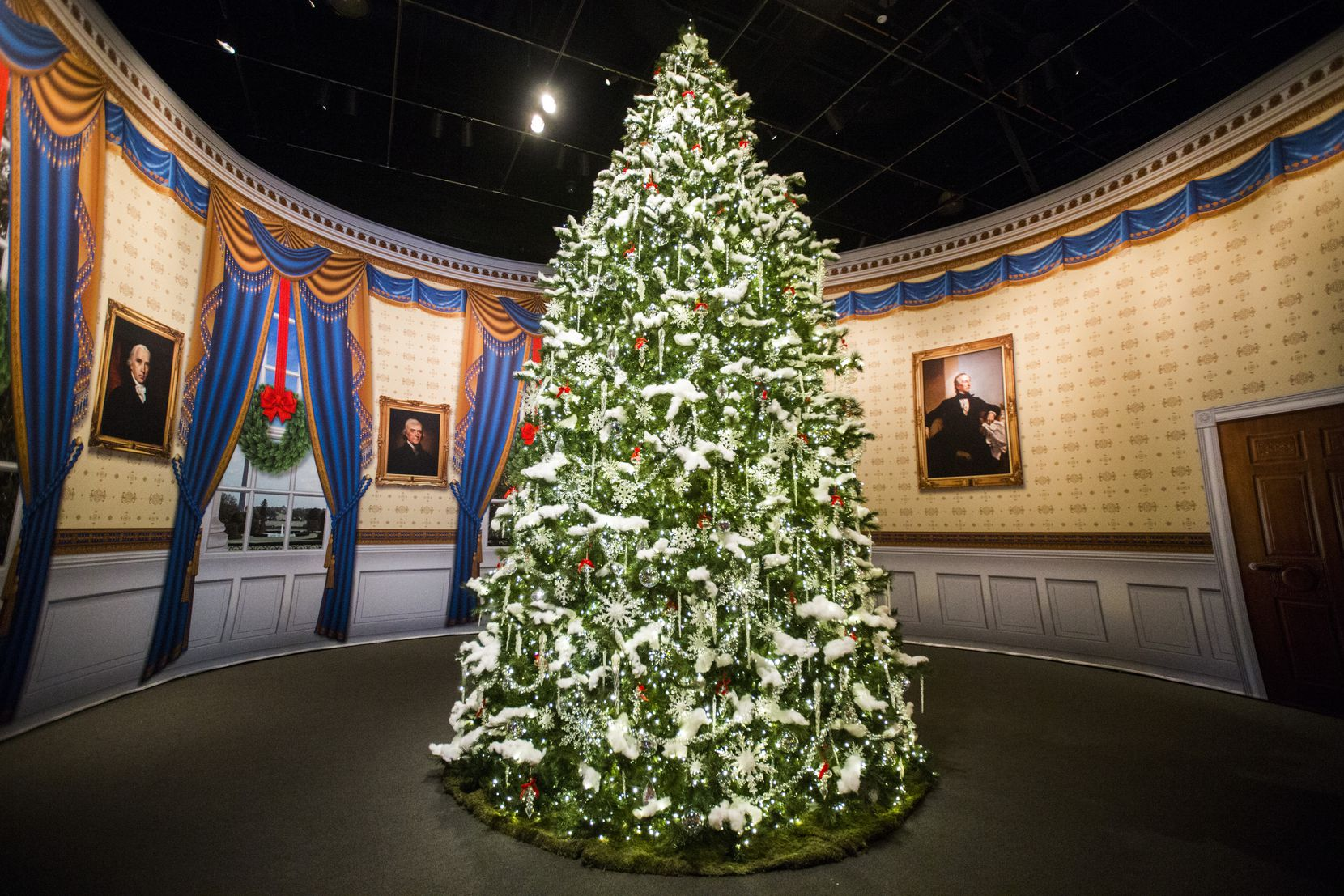 Each year, the George W. Bush Presidential Center revisits Christmas decor from a year when George W. and Laura Bush celebrated the holidays in the White House.