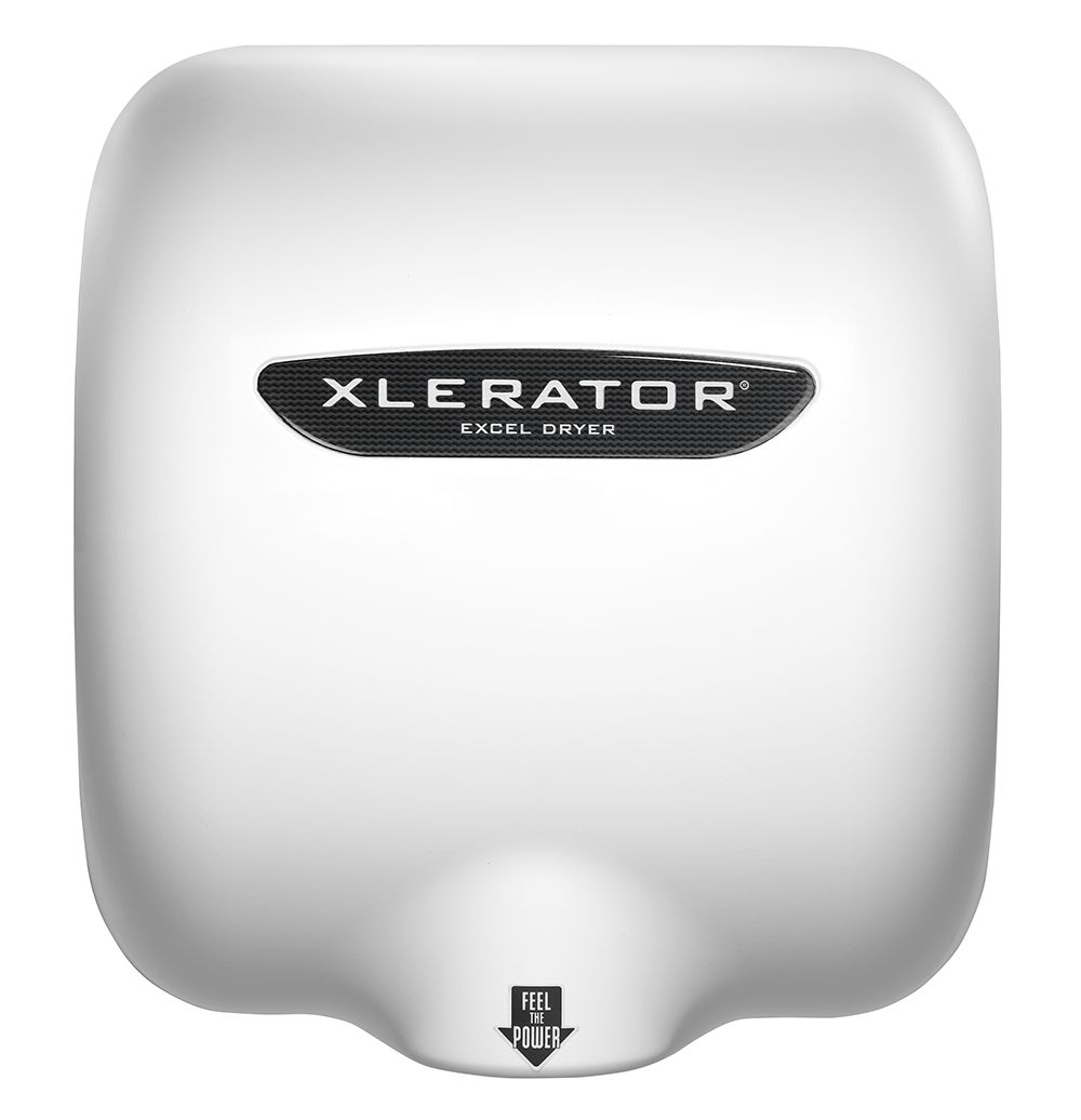 William Gagnon, vice president of marketing for Excel Dryer Inc., said hand dryers such as the Xlerator XL-BW are no louder than other everyday noises.