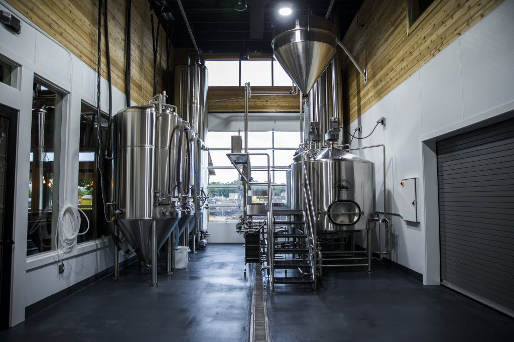 The brewing system at Bankhead Brewing Co. on Friday, August 19, 2016 on Main St. in Rowlett.