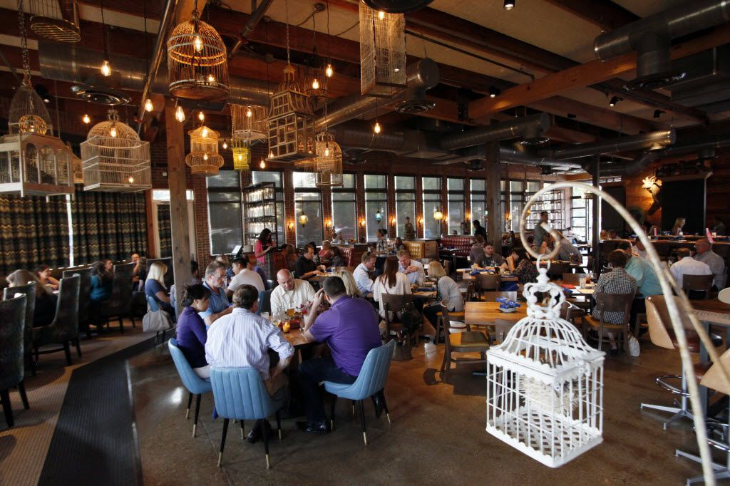 The main dinning area inside the restaurant Ida Claire, on Tuesday, Sept. 29, 2015 in Addison. Ben Torres/Special Contributor