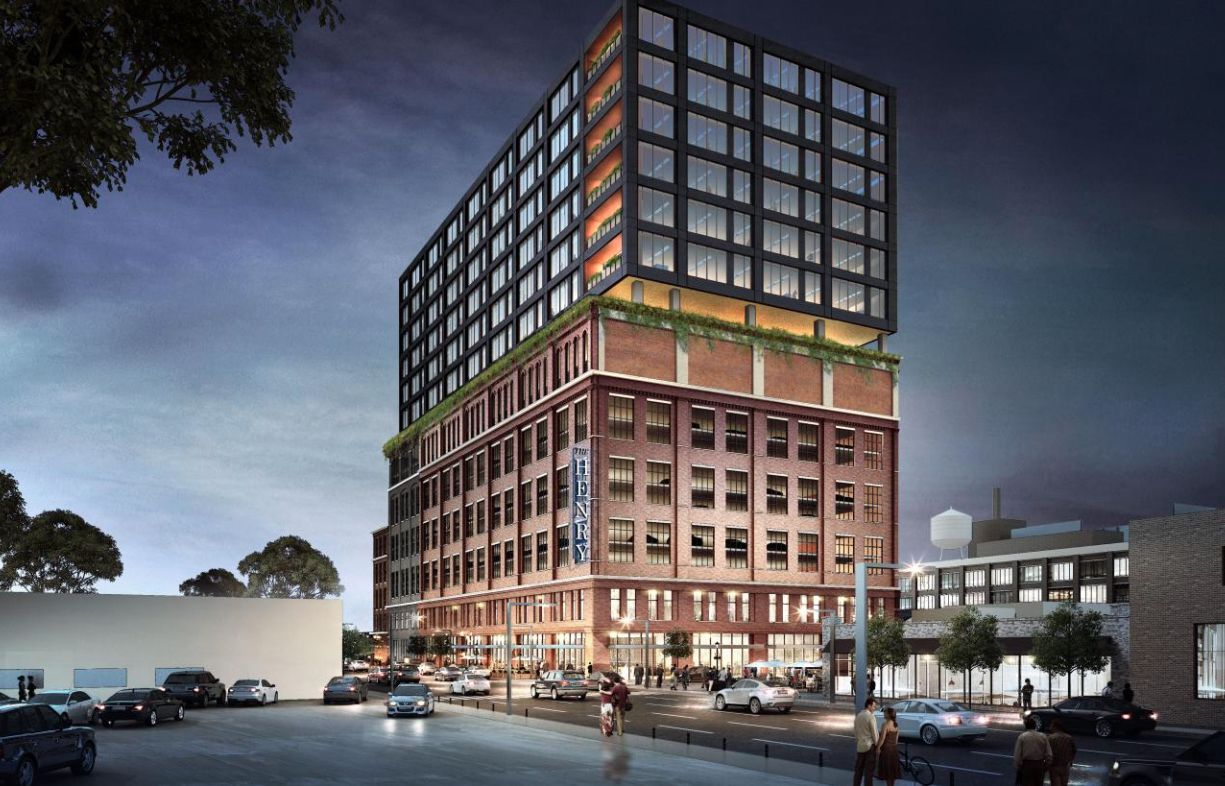 Developer Hines is working on plans for an office and retail tower in Dallas' Deep Ellum district.