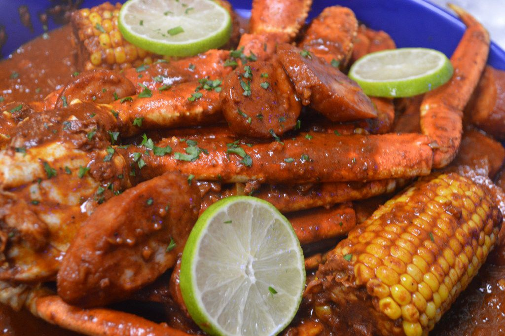 Ragin' Crab Cafe's Valentine's Day menu will include a seafood feast to share with crab, sausage, corn and more.