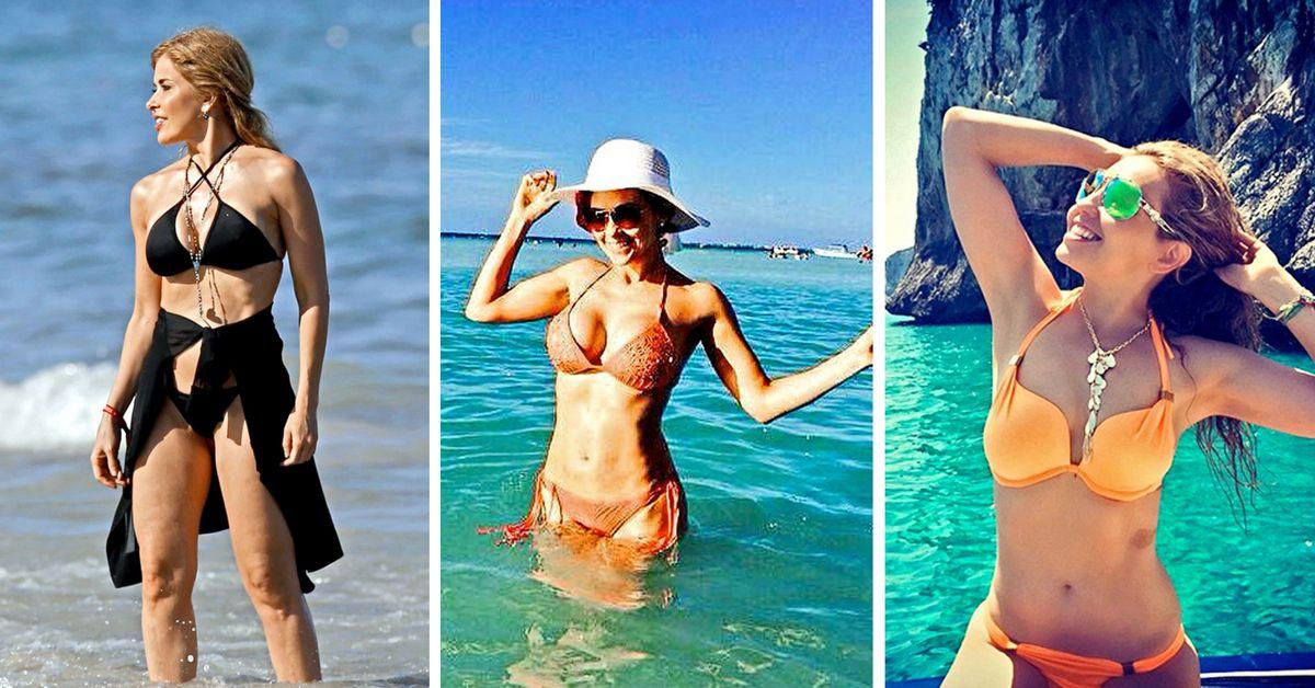 Gloria Trevi, Aracely Arambula y Thalía son tres de las famosas que lucen cuerpos de veinteañeras./AGENCIA REFORMA