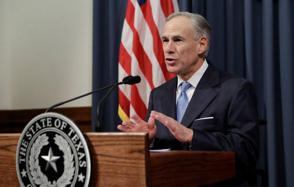 Texas Gov. Greg Abbott announces that there will be a special session of the Texas Legislature beginning July 18.