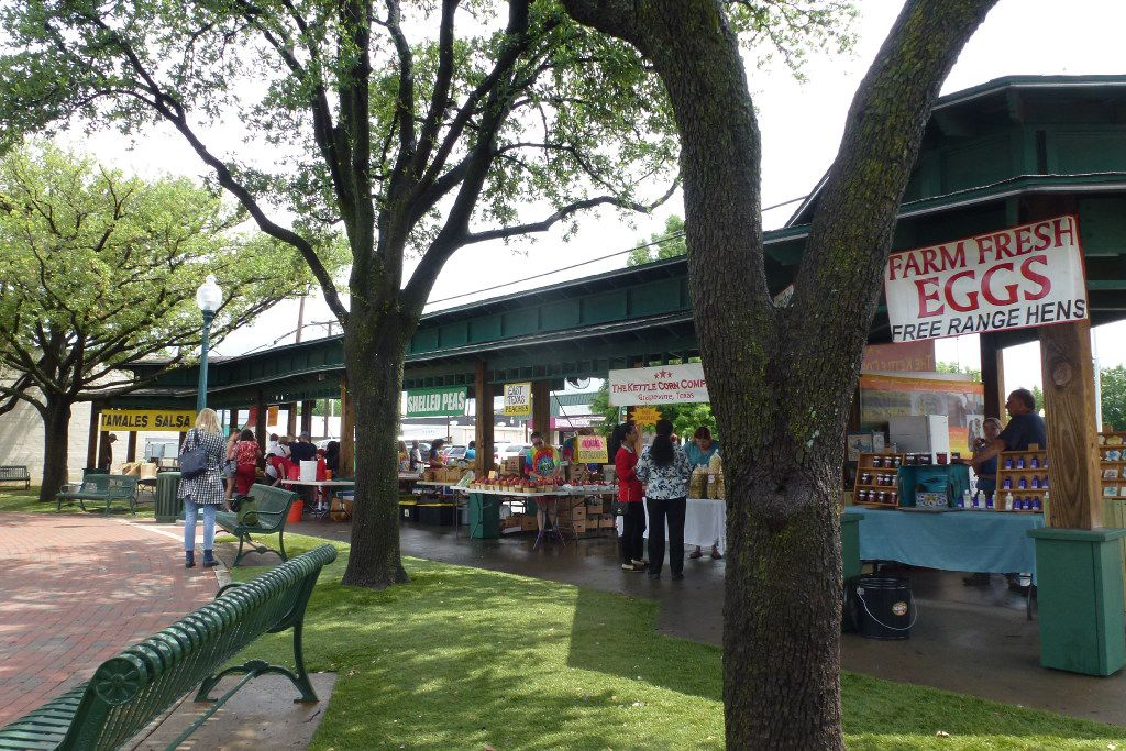 The outdoor Grapevine Farmers Market at the gazebo in the heart of historic downtown is open 8 a.m. to 4 p.m. Thursday through Saturday. On Saturday, they boost  the options with other vendors.